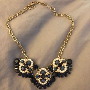 J.Crew Navy Statement Necklace